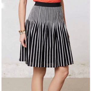 Anthropologie Skirts - Anthropologie Maeve High Waisted Striped Skirt